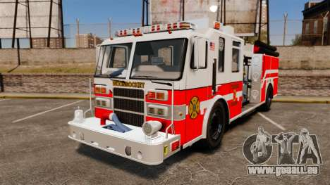 Firetruck Woonsocket [ELS] für GTA 4