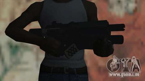 Fusil de Timeshift pour GTA San Andreas troisième écran