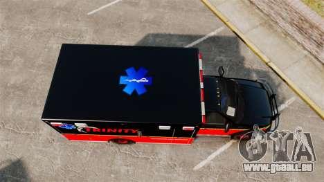 Landstalker L-350 Trinity EMS Ambulance [ELS] pour GTA 4 est un droit