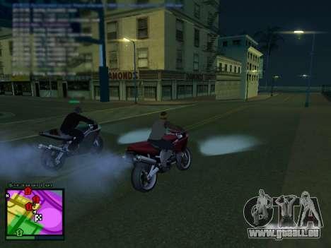 MFGTAFH v3.0 pour GTA San Andreas troisième écran