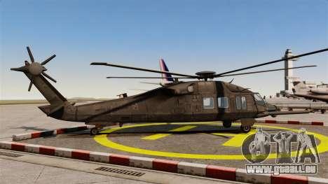 Sikorsky MH-X Silent Hawk [EPM] pour GTA 4 est une gauche