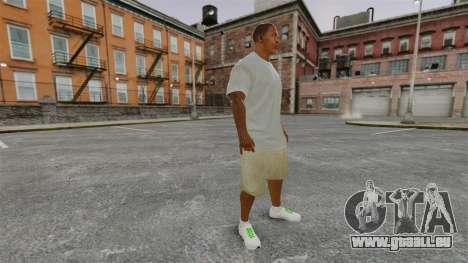 Franklin Clinton v3 pour GTA 4 secondes d'écran
