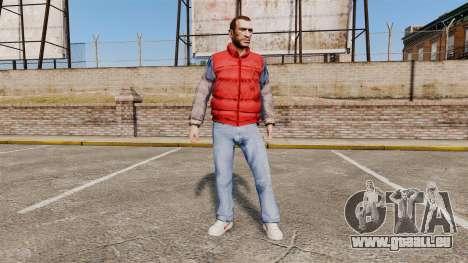 Vêtements-dos à l'avenir- pour GTA 4