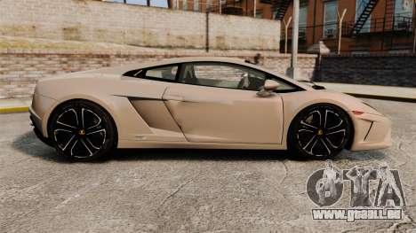 Lamborghini Gallardo 2013 v2.0 pour GTA 4 est une gauche