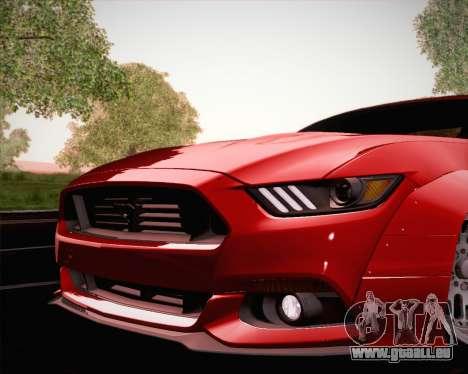 Ford Mustang Rocket Bunny 2015 für GTA San Andreas Motor