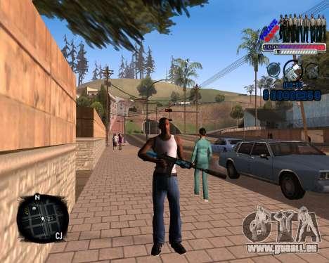 C-HUD Police Gang für GTA San Andreas
