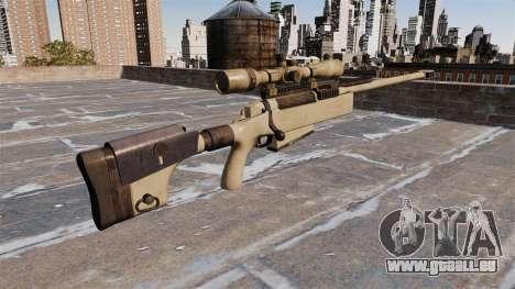 Fusil de tireur d'élite McMillan TAC-50 pour GTA 4 secondes d'écran