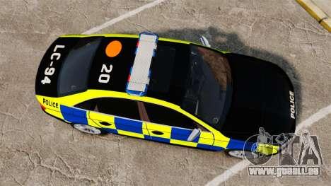 Audi S4 Police [ELS] für GTA 4 rechte Ansicht