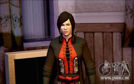 Lady Shiva in die game Batman Arkham Ursprünge für GTA San Andreas