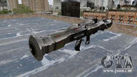 Panzerabwehr-Granatwerfer Crysis 2 für GTA 4 Sekunden Bildschirm