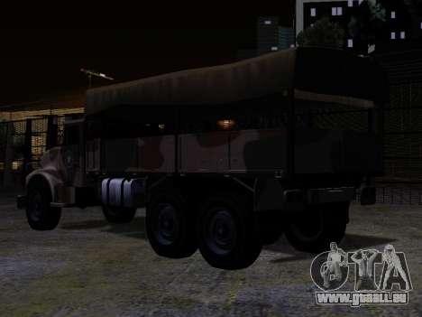 GTA V Barracks OL für GTA San Andreas linke Ansicht