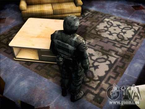 Militaire de call of Pripyat pour GTA San Andreas troisième écran