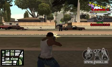 C-Hud Getto Tawer pour GTA San Andreas deuxième écran
