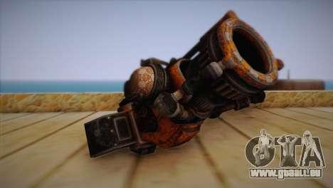 Flinte aus Bulletstorm für GTA San Andreas zweiten Screenshot