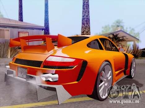 Porsche Carrera S pour GTA San Andreas moteur