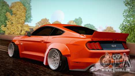 Ford Mustang Rocket Bunny 2015 pour GTA San Andreas vue de droite