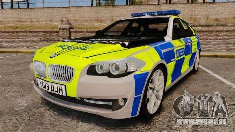 BMW 550i Metropolitan Police [ELS] für GTA 4
