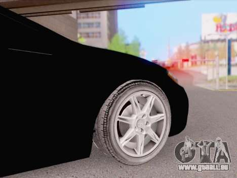 Mitsubishi Eclipse v4 pour GTA San Andreas sur la vue arrière gauche