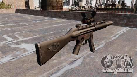Maschinenpistole HK MP5SD2 für GTA 4 Sekunden Bildschirm