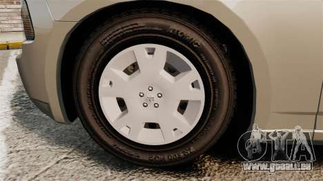 Dodge Charger SE 2006 für GTA 4 Rückansicht