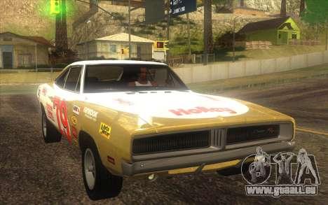 Dodge Charger RT 1969 pour GTA San Andreas vue intérieure