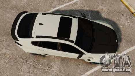 BMW X6 M HAMANN 2012 pour GTA 4 est un droit