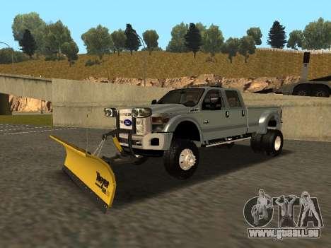 Ford F-450 für GTA San Andreas