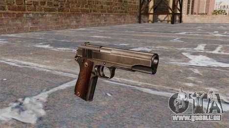 Colt M1911 pistolet pour GTA 4