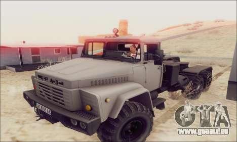 KrAZ 260v pour GTA San Andreas
