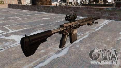 HK417 rifle pour GTA 4 secondes d'écran