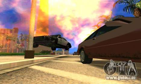 Ford Crown Victoria Police LV pour GTA San Andreas vue intérieure
