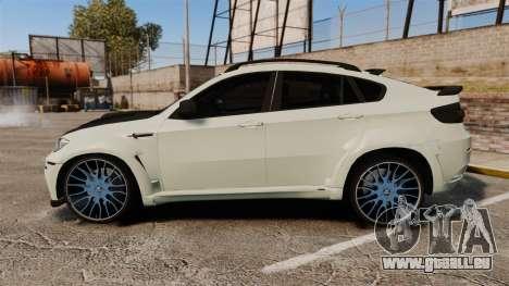 BMW X6 M HAMANN 2012 pour GTA 4 est une gauche