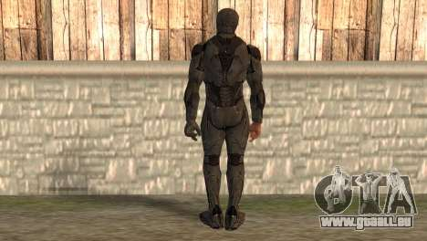 Robocop 2014 Movie Version für GTA San Andreas zweiten Screenshot