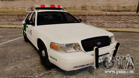 Ford Crown Victoria 1999 U.S. Border Patrol pour GTA 4