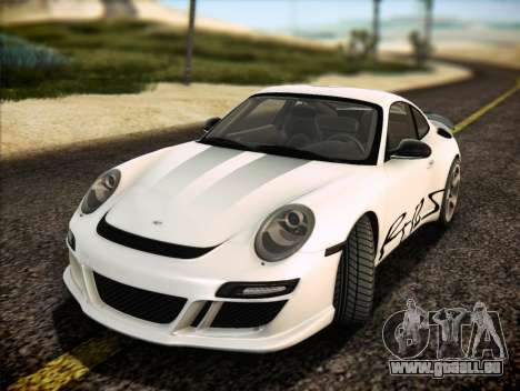 RUF RT12S pour GTA San Andreas moteur