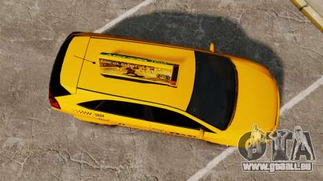 Habanero Taxi für GTA 4 rechte Ansicht