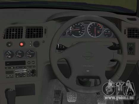Nissan SKyline GT-R BNR33 pour GTA Vice City vue arrière