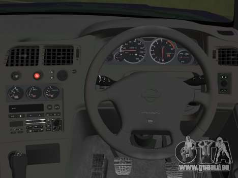 Nissan SKyline GT-R BNR33 für GTA Vice City Rückansicht