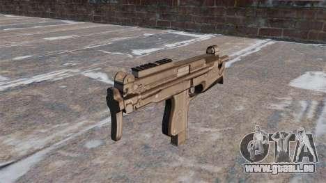 Pistolet mitrailleur MP-98 Glauberyt pour GTA 4 secondes d'écran