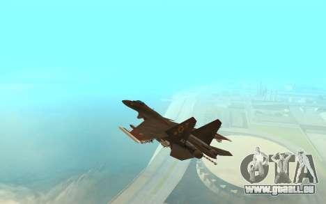 Su-33 für GTA San Andreas zurück linke Ansicht