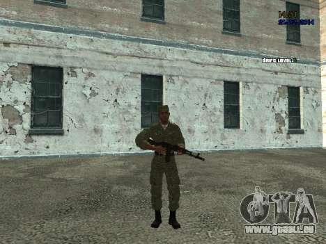Combat aéroporté pour GTA San Andreas deuxième écran