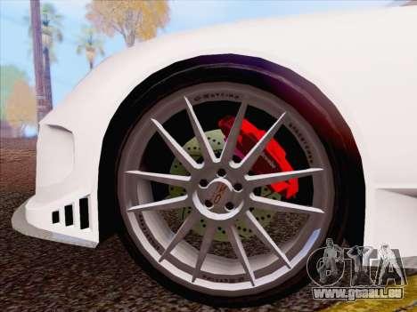 Porsche Carrera S pour GTA San Andreas laissé vue