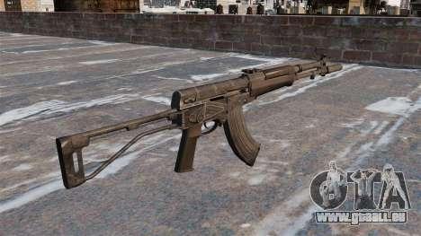 Automatische AEK-973 für GTA 4 Sekunden Bildschirm