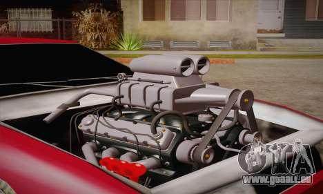 Elegy Frankinshtain pour GTA San Andreas sur la vue arrière gauche
