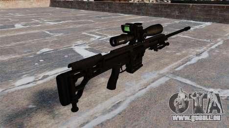 Fusil Barrett 98 b pour GTA 4 secondes d'écran