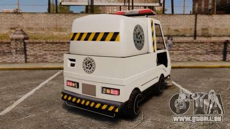 GTA SA Washer pour GTA 4 Vue arrière de la gauche