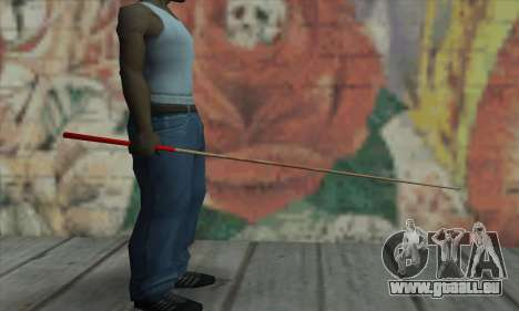 New Pool Cue für GTA San Andreas zweiten Screenshot