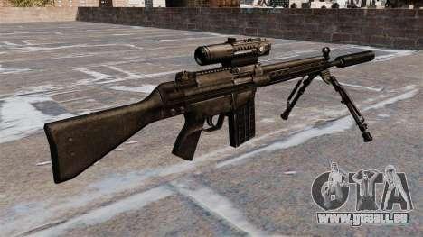 HK G3 rifle automatique pour GTA 4 secondes d'écran