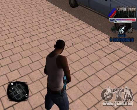 C-HUD Police Gang für GTA San Andreas zweiten Screenshot