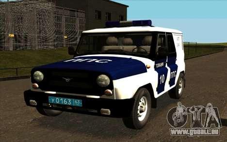 UAZ Hunter-PPP für GTA San Andreas Seitenansicht